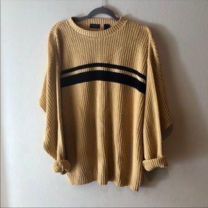 VINTAGE IZOD OVERSIZED SWEATER